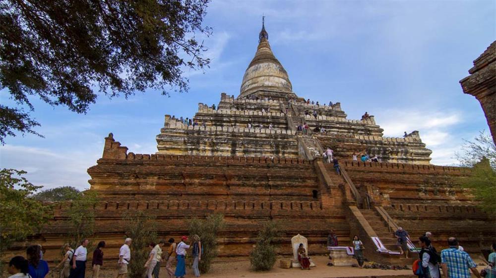 Kết quả hình ảnh cho Đền Shwesandaw (Bagan)