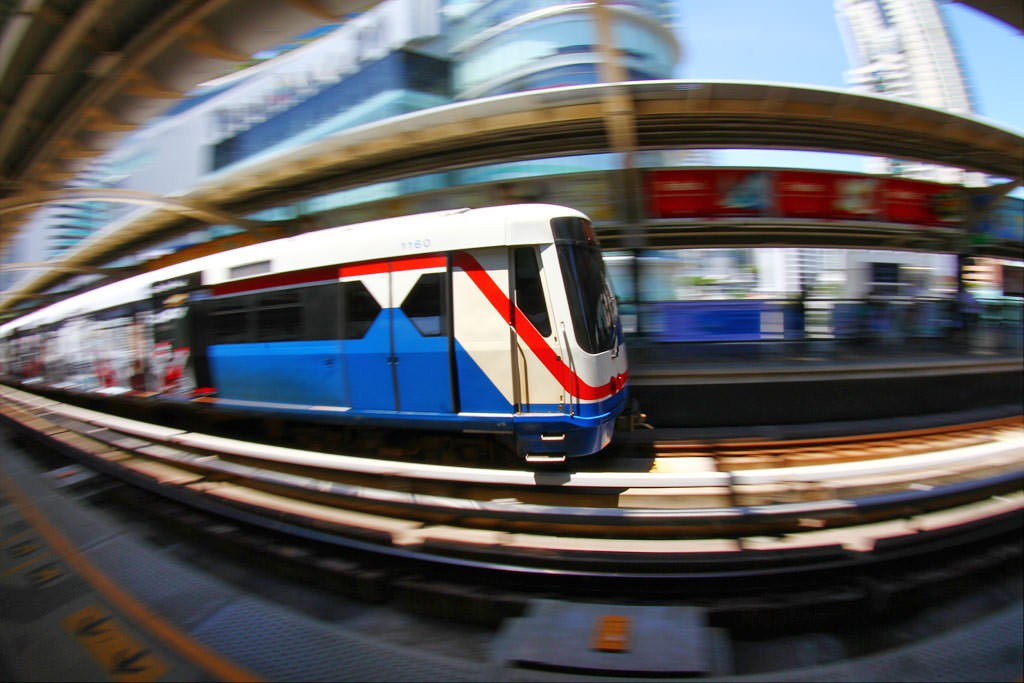 Cam nang du lich Bangkok - Skytrain