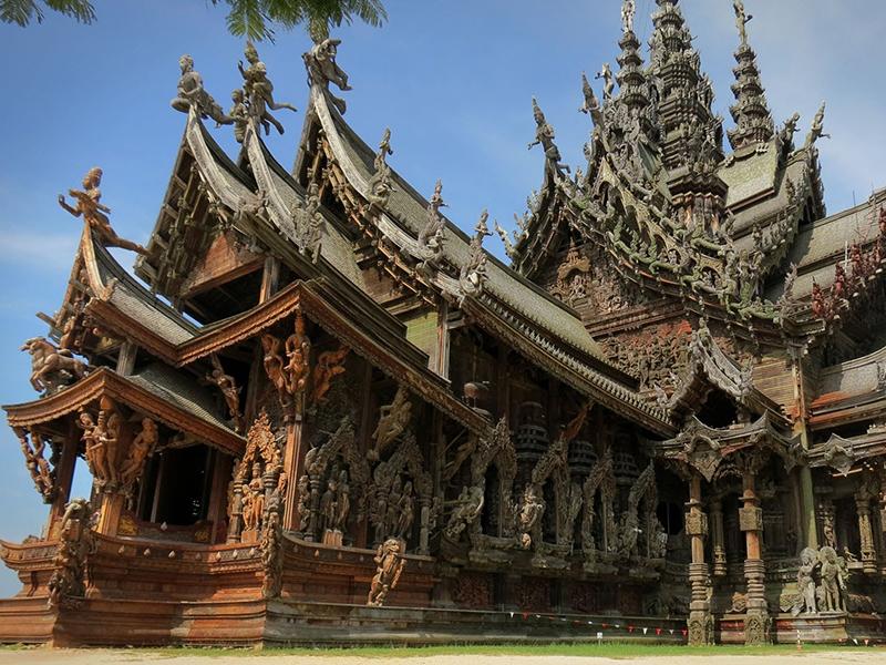 Ngôi đền Sự thật (The Sanctuary of Truth)