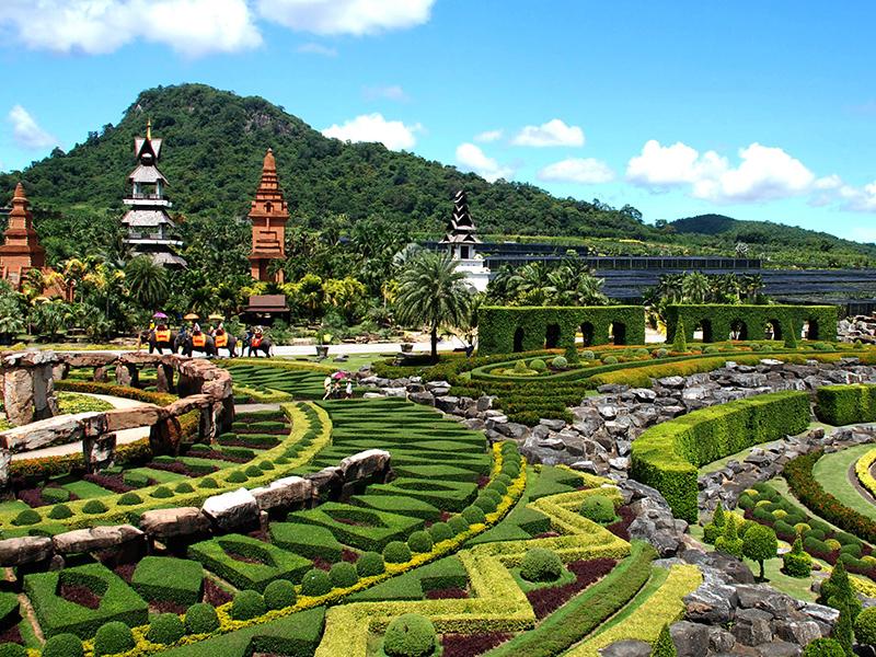 Một góc vườn sinh thái Nong Nooch