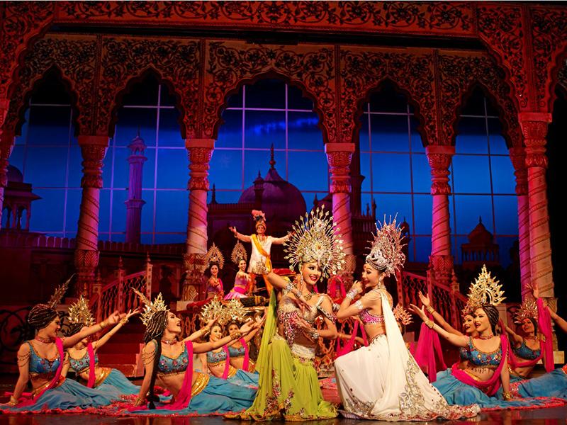 Một cảnh trong Tiffany Show Pattaya
