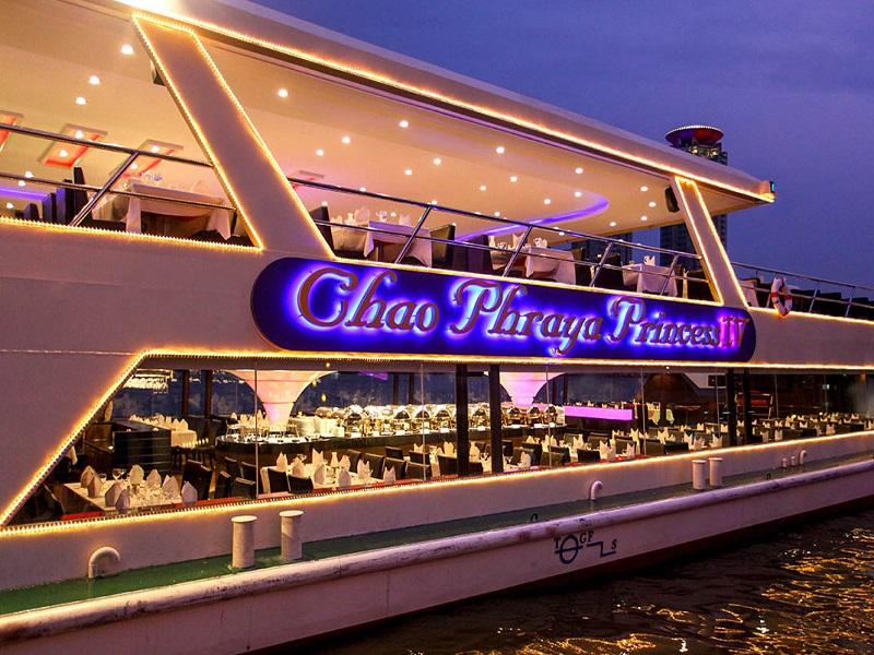 Du thuyền Chao Phraya Princess