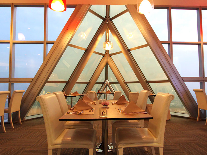Buffet Balcony Indoor tầng 81 - Baiyoke Bangkok Sky
