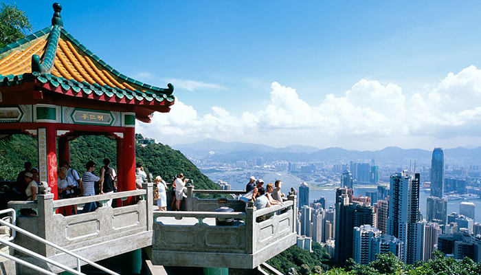 đỉnh peak hong kong