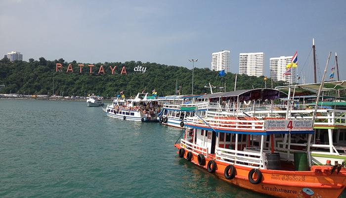 Cầu cảng pattaya