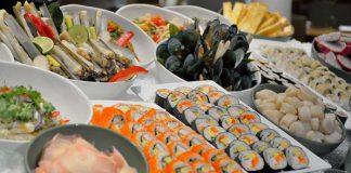 buffet đồ ăn ngon mà chỉ mất 500 baht