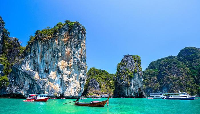 Biển đảo Phuket trong xanh