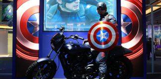 tham gia the avenger tại science center