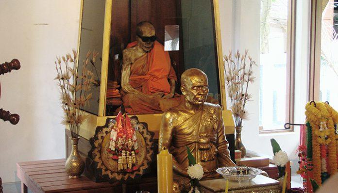 xác ướp chùa Wat Khunaram