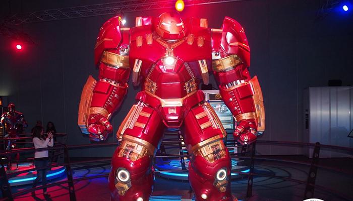 science center - iron man
