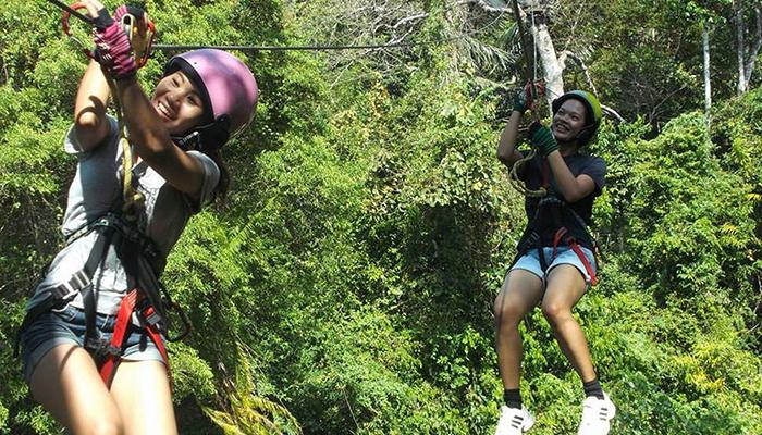 krabi tree top adventure