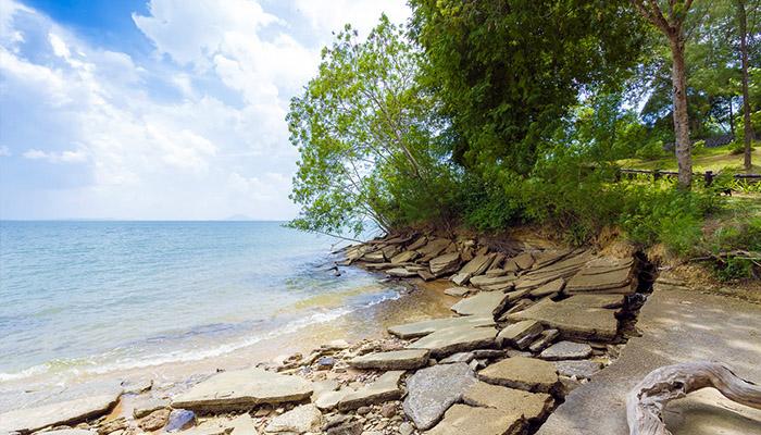 bãi biển hóa thạch