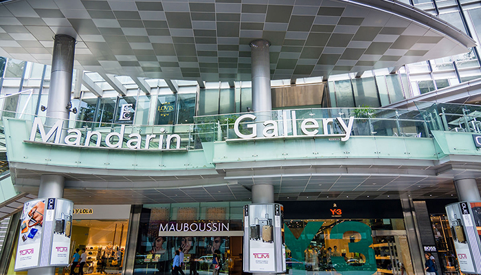 top 10 dia chi mua sam o orchard road Singapore mandarin gallery