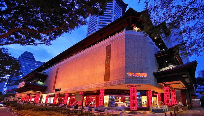 top 10 dia chi mua sam o orchard road Singapore Tangs