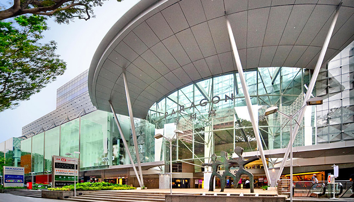 top 10 dia chi mua sam o orchard road Singapore paragon