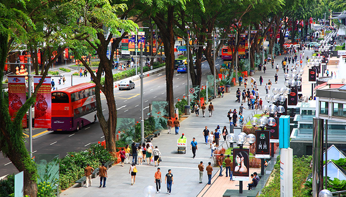 top 10 dia chi mua sam o orchard road Singapore
