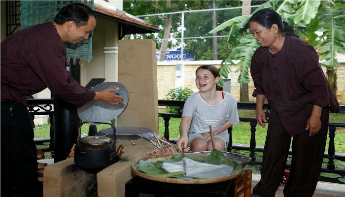 Lớp dạy nấu ăn Hội An