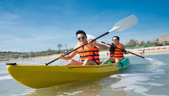 Chèo thuyền Kayak ở Nha Trang