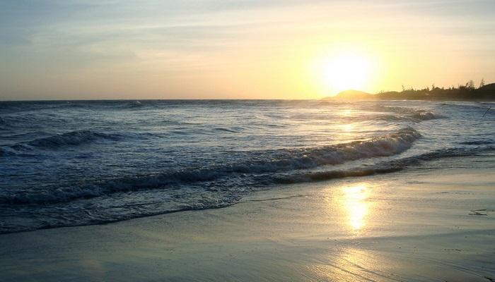Bình minh trên biển Long Hải