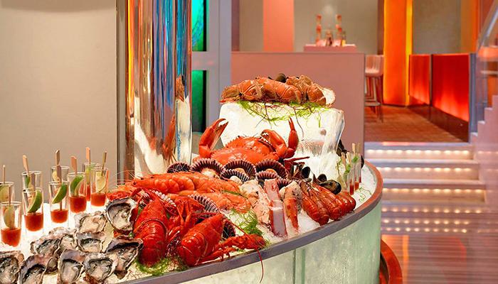 buffet the line