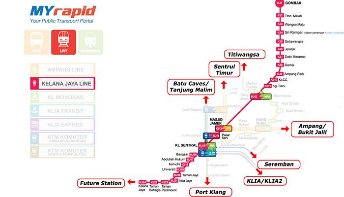 LRT tuyến kelana