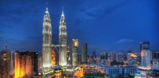 Berjaya Times Square, the 13th largest shopping mall in the world