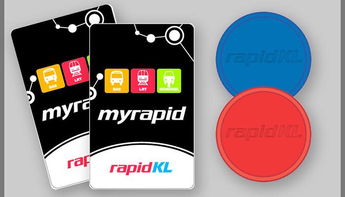 vé và thẻ rapid Kuala Lumpur
