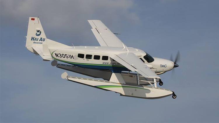 Hãng hàng không Hải Âu là hãng hàng không đầu tiên và duy nhất ở Việt Nam khai thác dịch vụ này