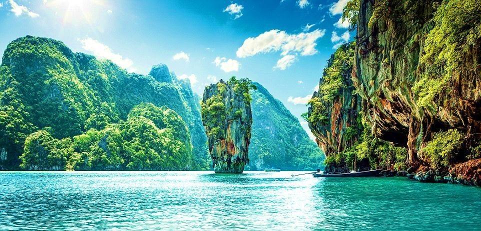 """""""Vịnh Hạ Long"""" của Thái Lan"""