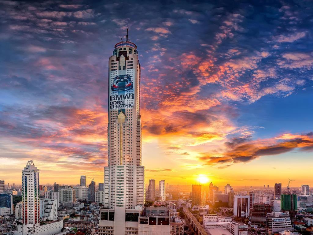 Baiyoke Sky có tất cả 86 tầng bao gồm khách sạn, khu mua sắm, nhà hàng và đài quan sát