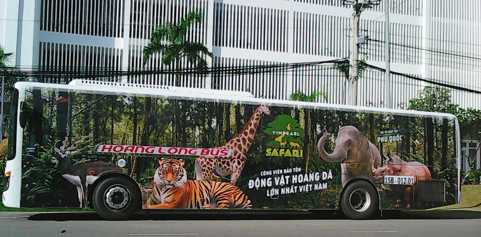 Xe bus miễn phí đi Vinpearl Phú Quốc