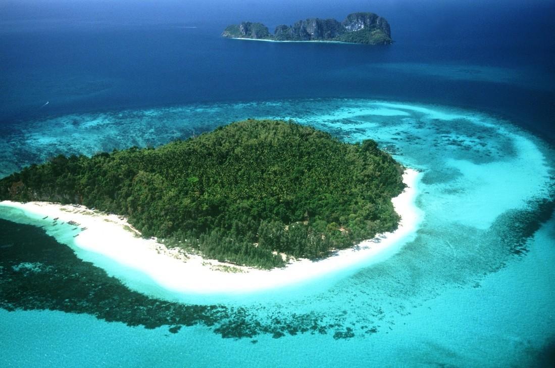 Chắc chắn hình ảnh này sẽ gợi nhắc đến hòn đảo tình yêu tại Maldives phải không nào?