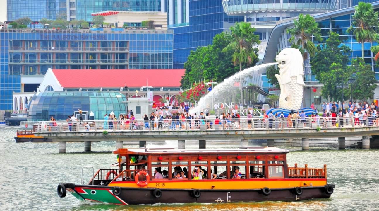 Merlion - biểu tượng của đảo quốc Singapore