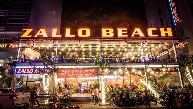 Zallo Beach rất thích hợp để tổ chức các bữa tiệc cuối năm, tiệc sinh nhật,...