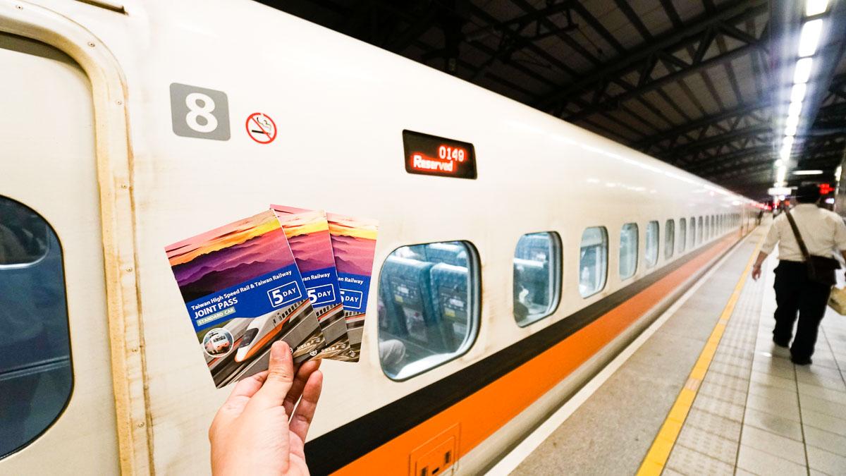Vé tàu THSR giống như tấm thẻ thần kỳ đưa bạn đi khắp Đài Loan