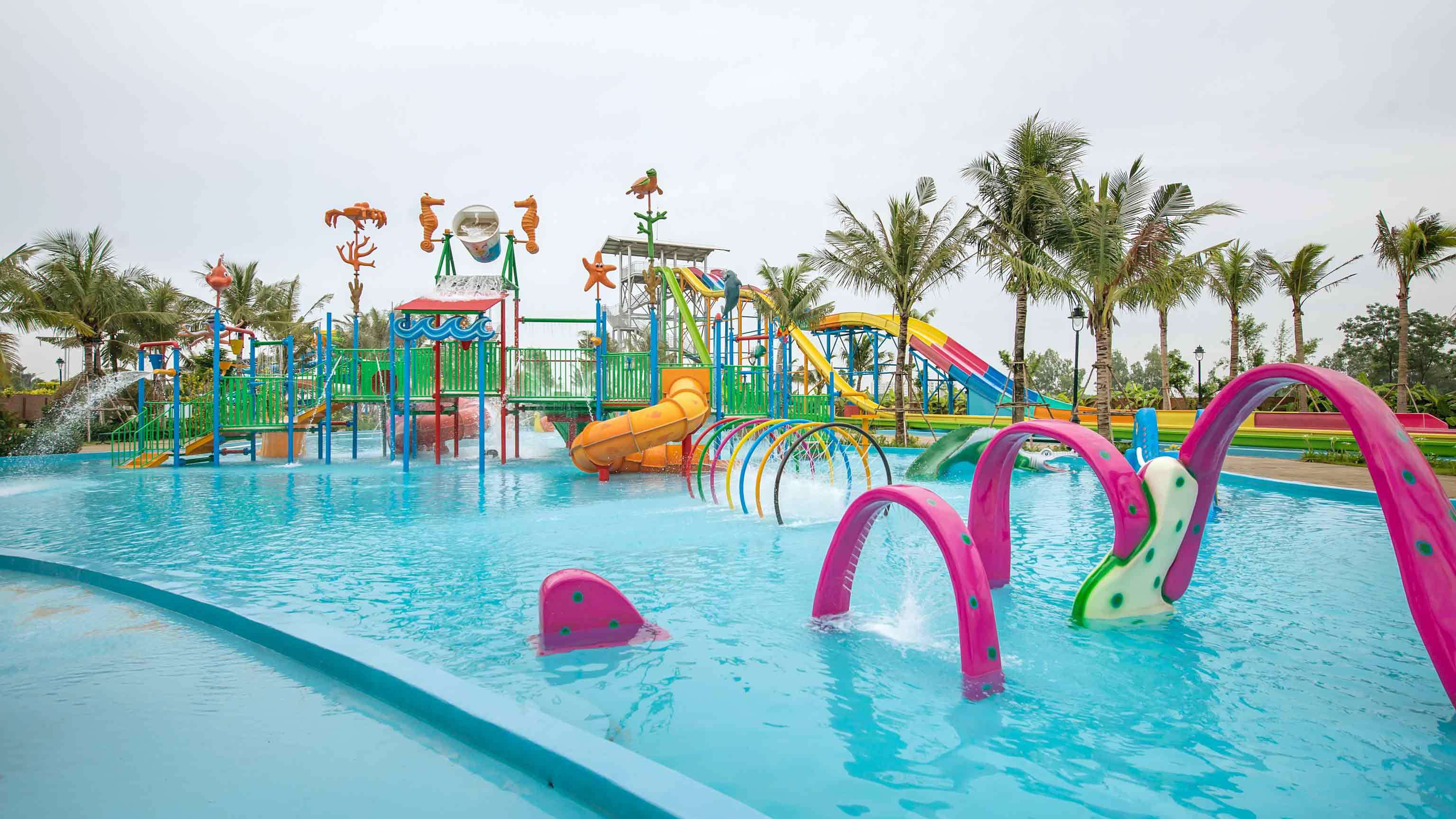 Khu bể bơi dành cho trẻ em tại Baara Land