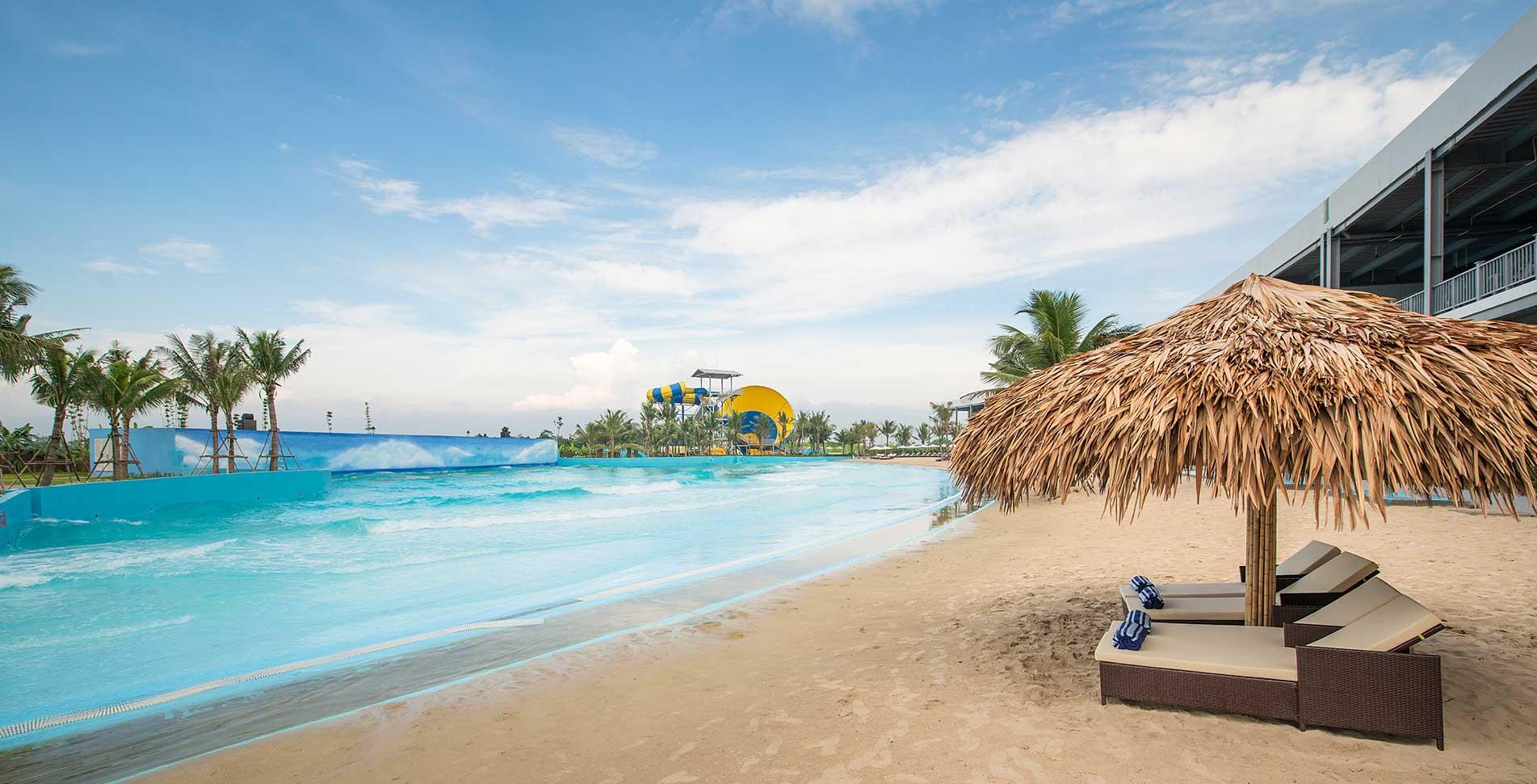 Bãi biển nhân tạo sẽ là điểm đến lý tưởng cho những gia đình bận rộn không thể đi chơi xa