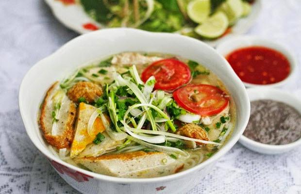Bún cá – đặc sản nhất định phải ăn ở Nha Trang