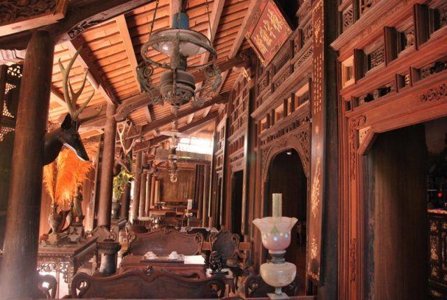 Một góc nhà cổ Hoàng Hoa Thôn