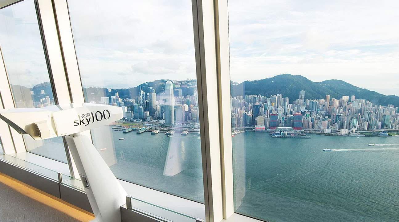 Hong Kong sẽ như thế nào nếu nhìn từ tầm 100 xuống?