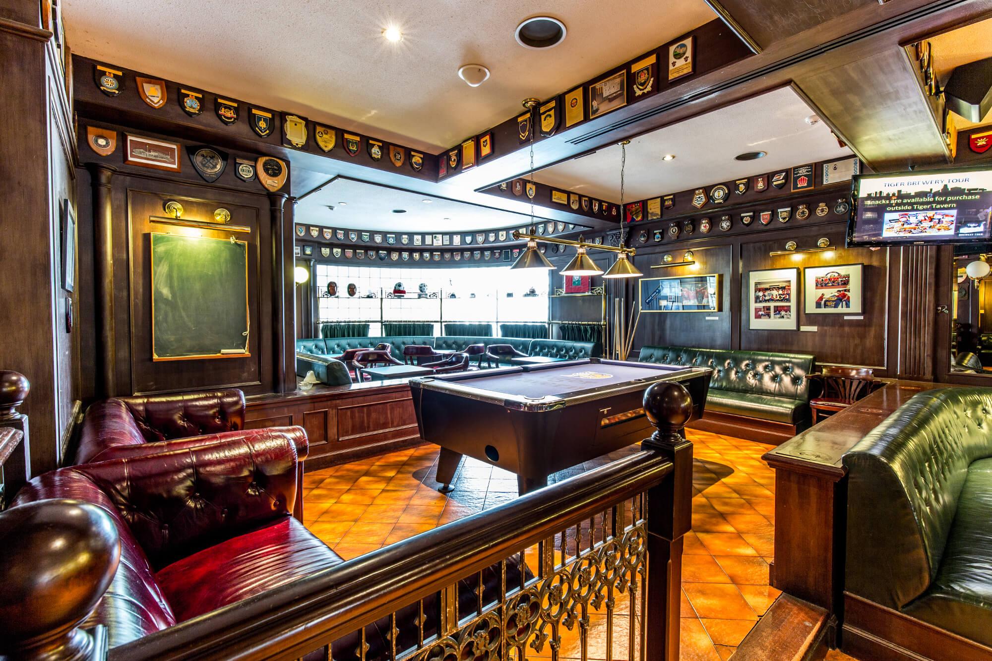 Nhà hàng Tiger Tavern nơi bạn có thể thưởng thức bia và giải trí