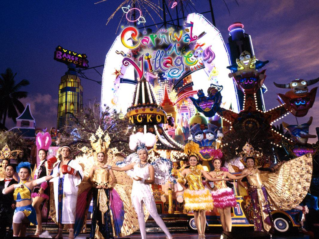 Show diễn Carnival đầy màu sắc trong Phuket Fantasea show