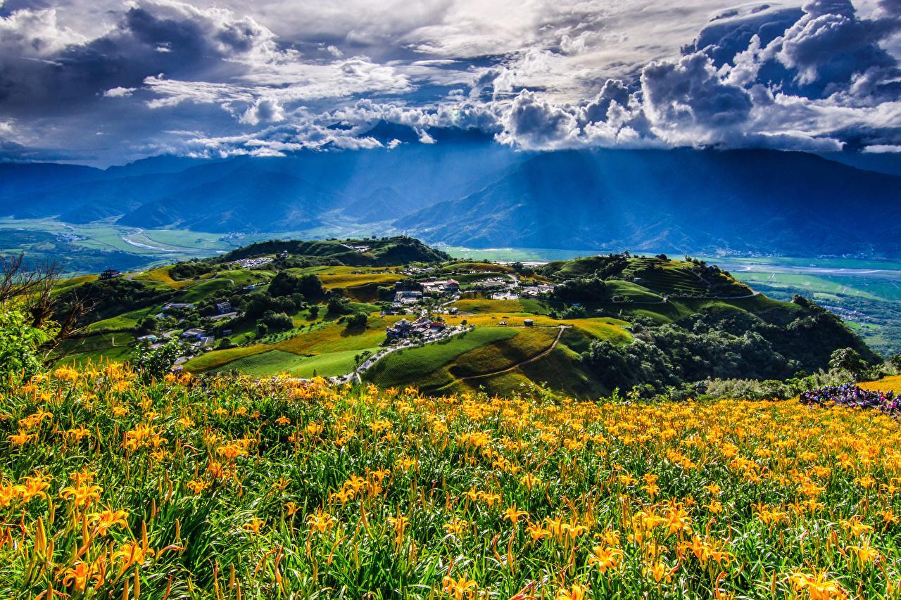Một góc Hoa Liên nhìn từ thung lũng Hoa Đông
