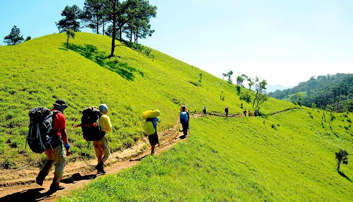 Những con đường trekking thênh thang