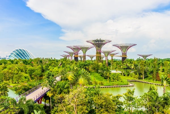 Khu sinh thái Garden by The Bay nổi tiếng của Singapore