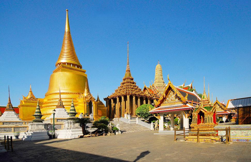 Thái Lan nổi tiếng với những ngôi chùa