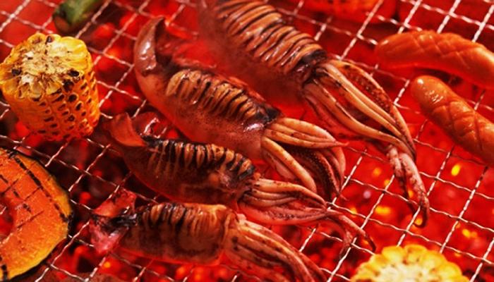 Món mực nướng luôn làm hài lòng du khách tại Sihanoukville.
