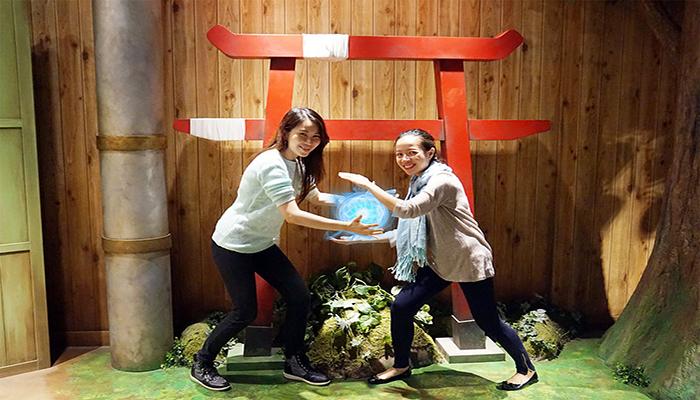 Hoặc bạn có thể đắm chìm trong thế giới truyện tranh tại J-World Tokyo. Nguồn: imgur.com