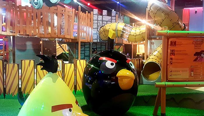 Angry Birds Park - thế giới của những chú chim hiếu chiến đáng yêu.