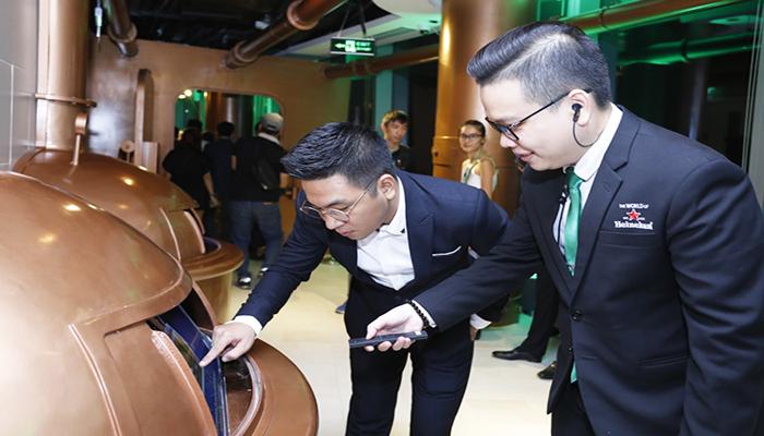 Bạn sẽ có cơ hội được tận mắt thấy quy trình ủ bia hoàn hảo của Heineken. Nguồn: congthuong.vn